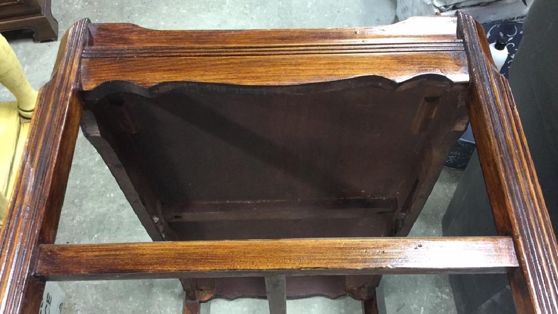 Vintage Wood Coffee Table - 6