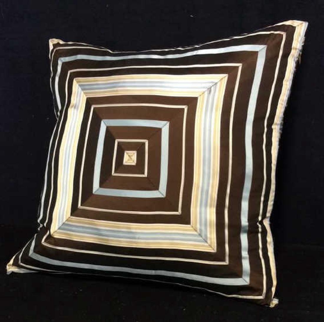 Geometric Decorative Pillow - 2