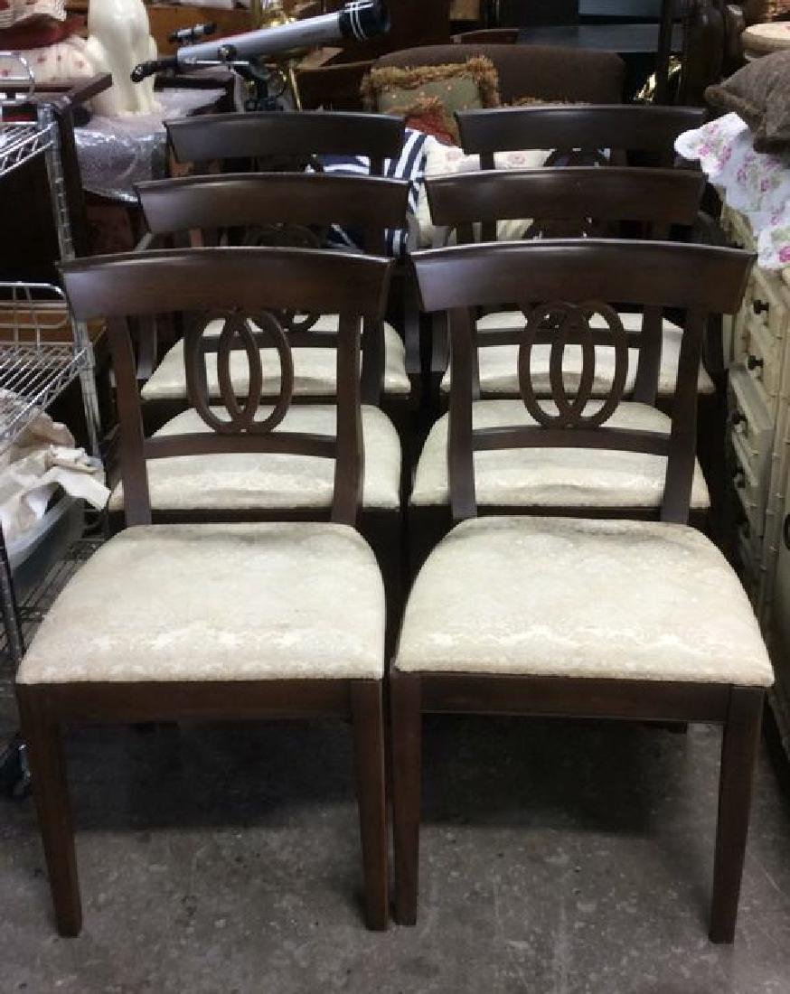 Lot 6 DREXEL Side & Arm Dining Chairs