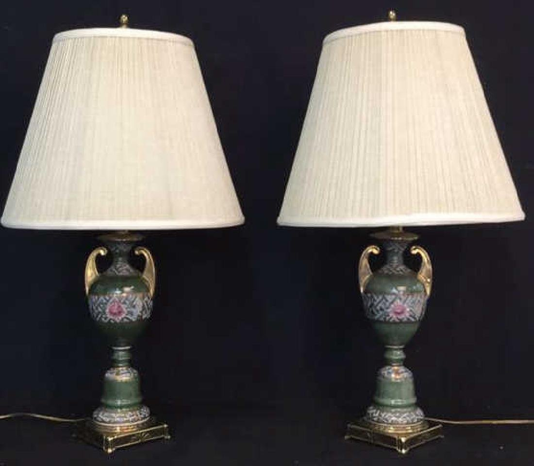 Pair Table Lamps by Rembrandt Lamp Co