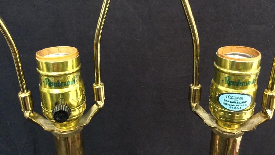 Pair Table Lamps by Rembrandt Lamp Co - 8