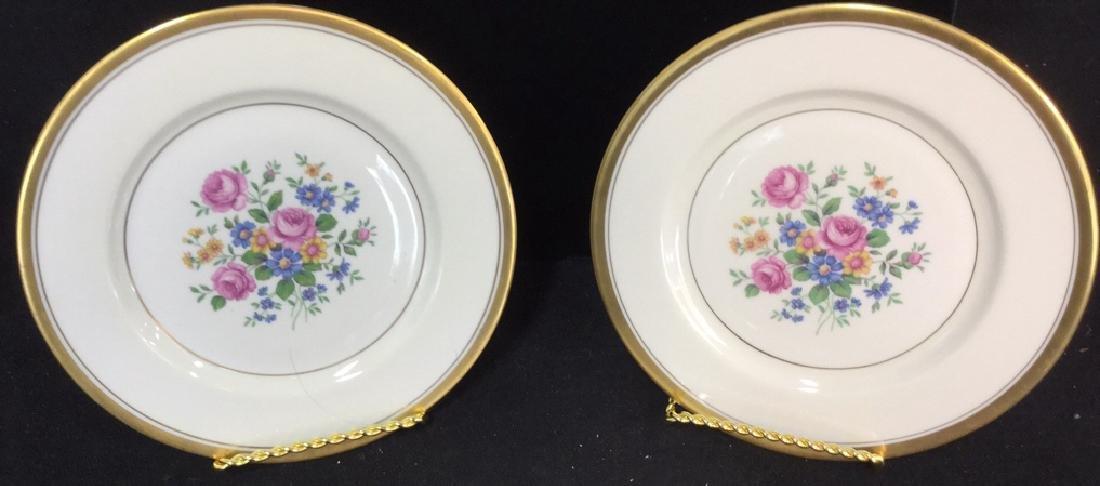 Set of 6 Theodore Haviland Plates - 10
