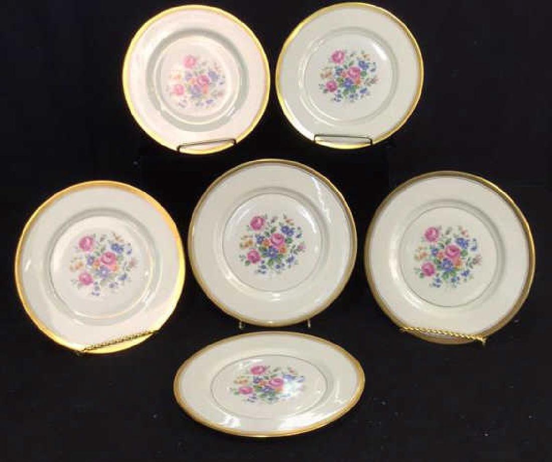 Set of 6 Theodore Haviland Plates