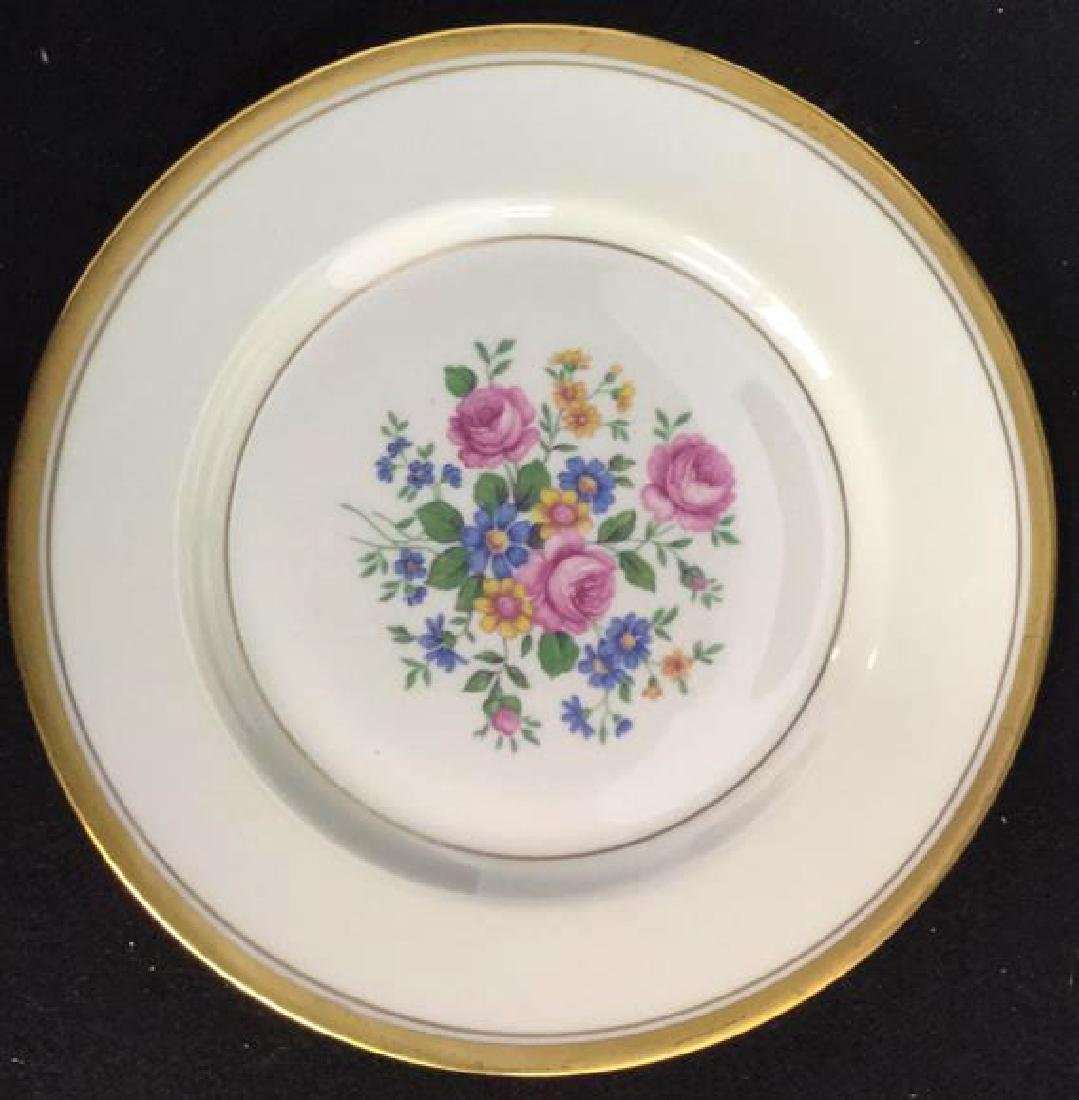 Set of 6 Theodore Haviland Plates - 2
