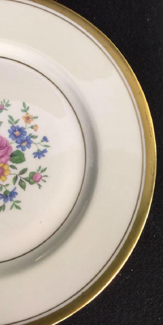 Set of 6 Theodore Haviland Plates - 4