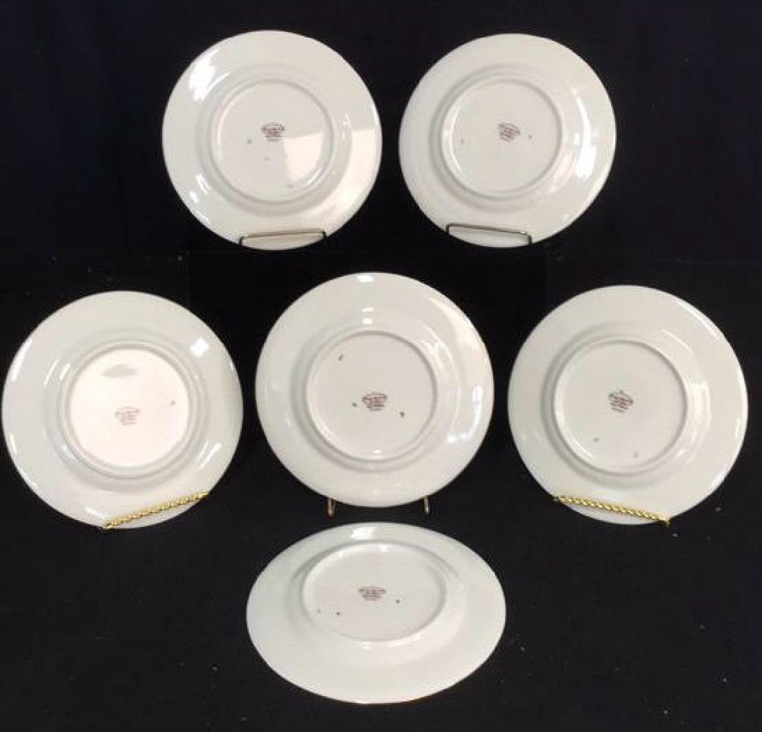 Set of 6 Theodore Haviland Plates - 7
