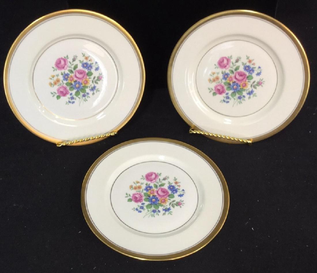 Set of 6 Theodore Haviland Plates - 8
