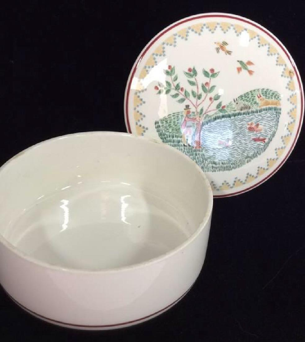 Porcelain Villeroy 7 Boch Dish W Lid