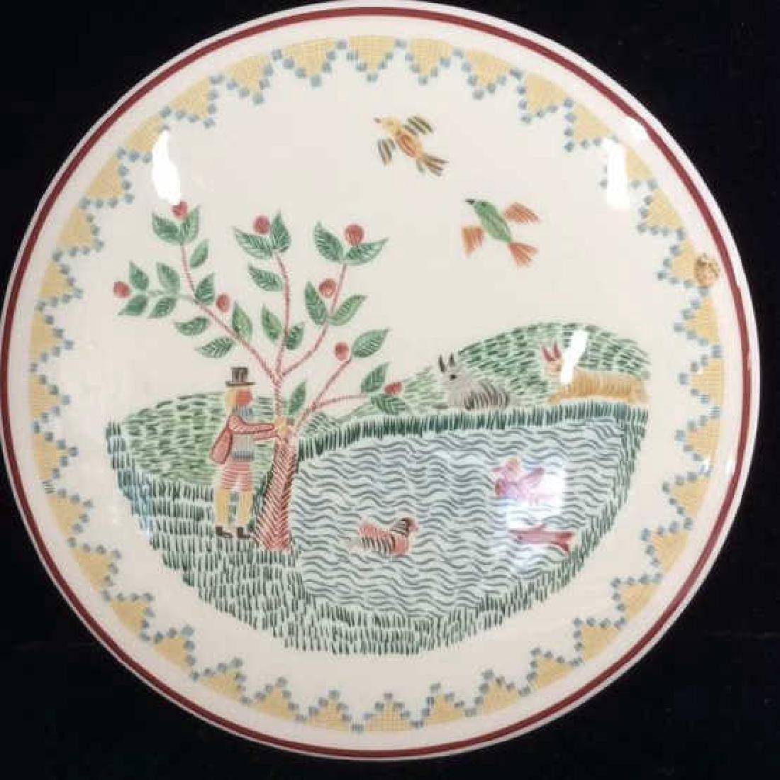 Porcelain Villeroy 7 Boch Dish W Lid - 2