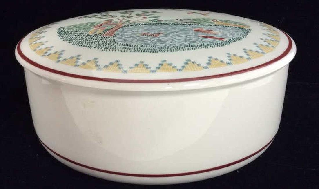 Porcelain Villeroy 7 Boch Dish W Lid - 4