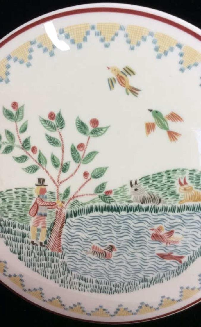 Porcelain Villeroy 7 Boch Dish W Lid - 5