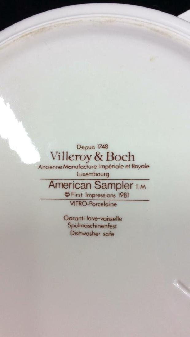 Porcelain Villeroy 7 Boch Dish W Lid - 8
