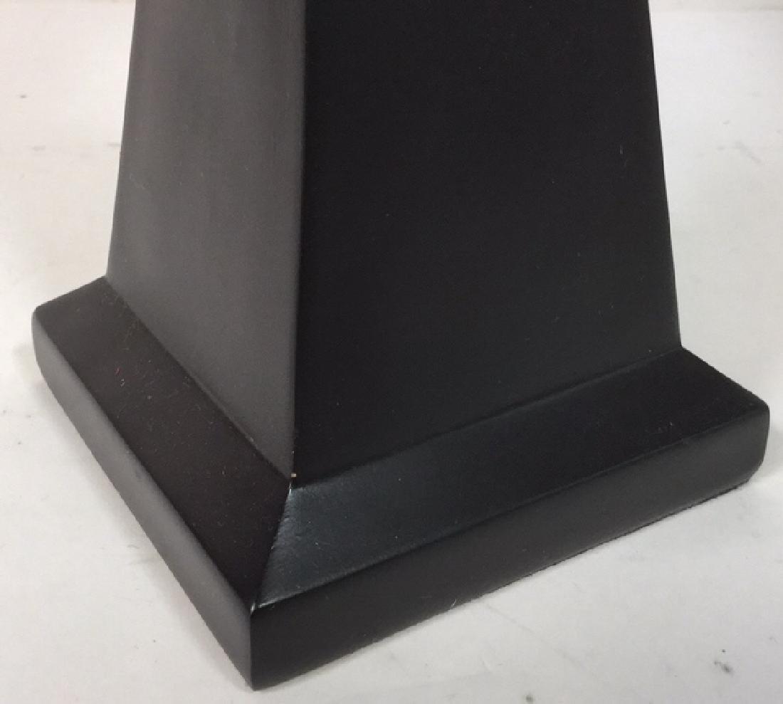 Geometric Shaped Ceramic Table Lamp and Shade - 8