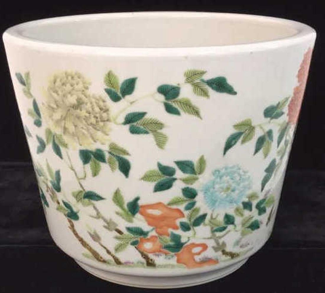 Decorative Asian Inspired Ceramic Flower Pot