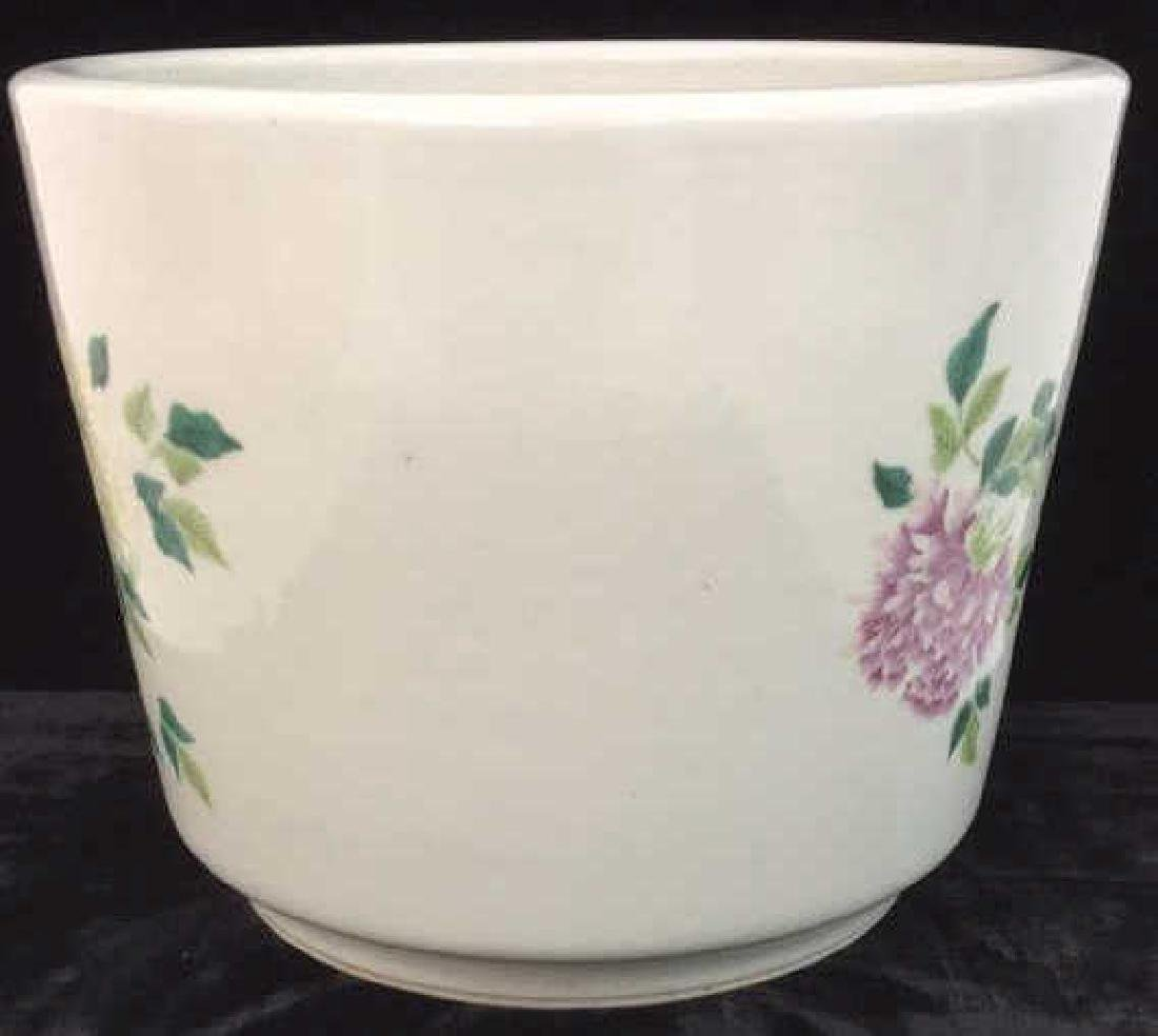 Decorative Asian Inspired Ceramic Flower Pot - 7