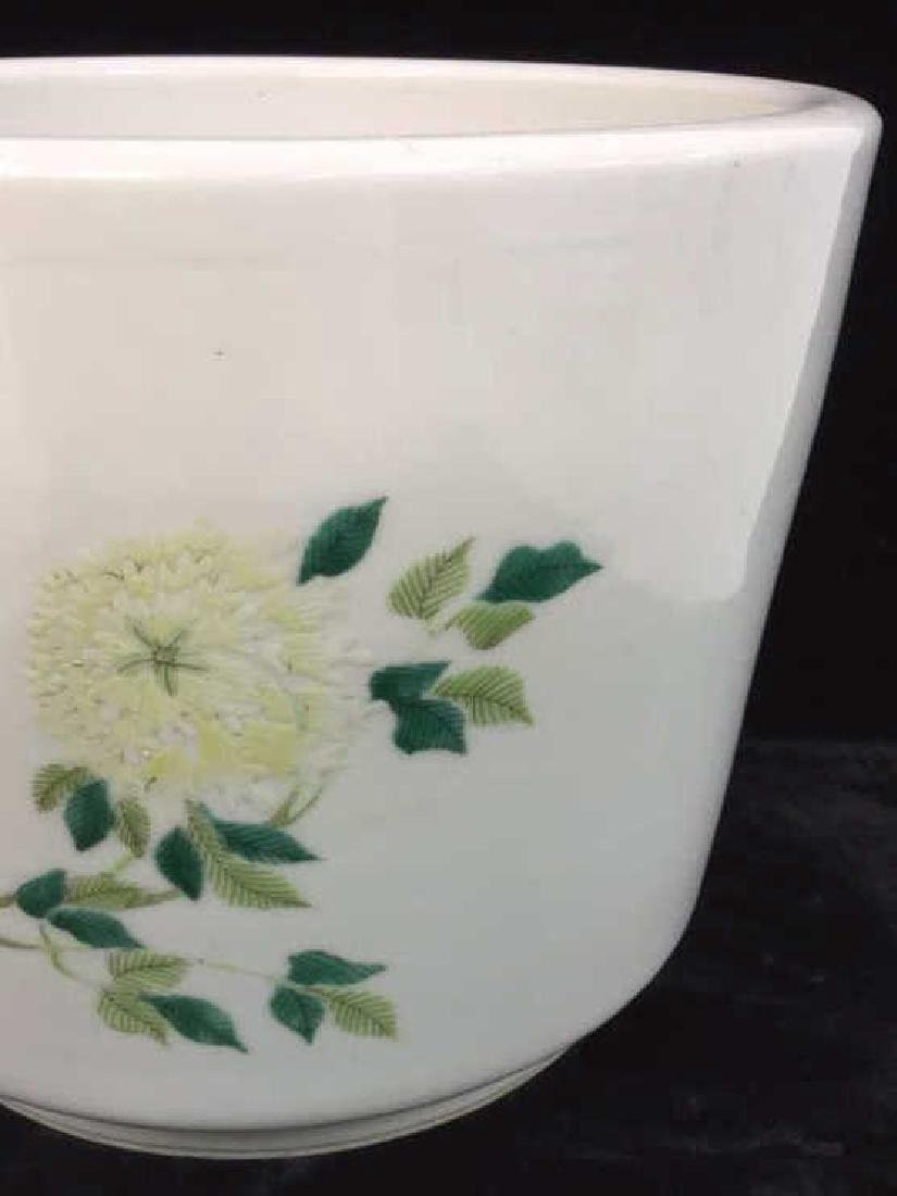 Decorative Asian Inspired Ceramic Flower Pot - 8