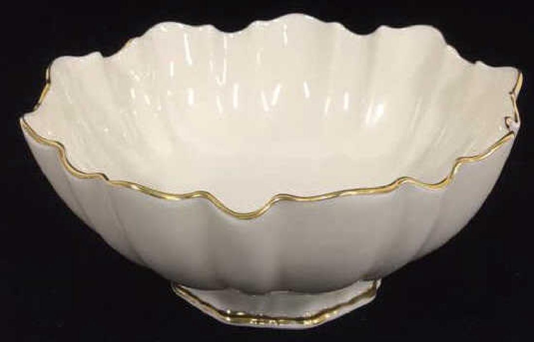 Ceramic/Porcelain Lenox Bowl With Scalloped Rim