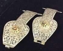 Vintage Metal Silver Turkish Buckles