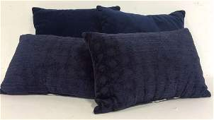 Navy Toned Decorative Throw Pillows