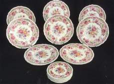Lot 18 Johnson Brothers Dorchester England Plates