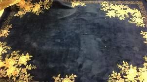 Large Handmade Indo Chinese Wool Carpet