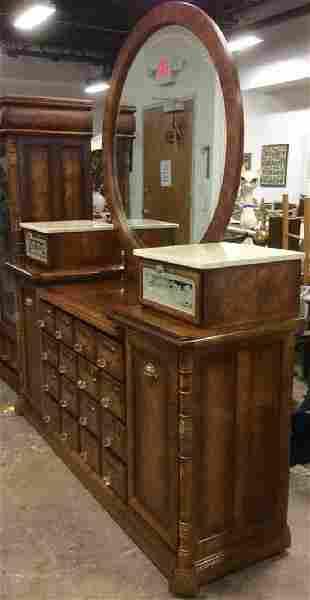 Apothecary Inspired Vanity Dresser