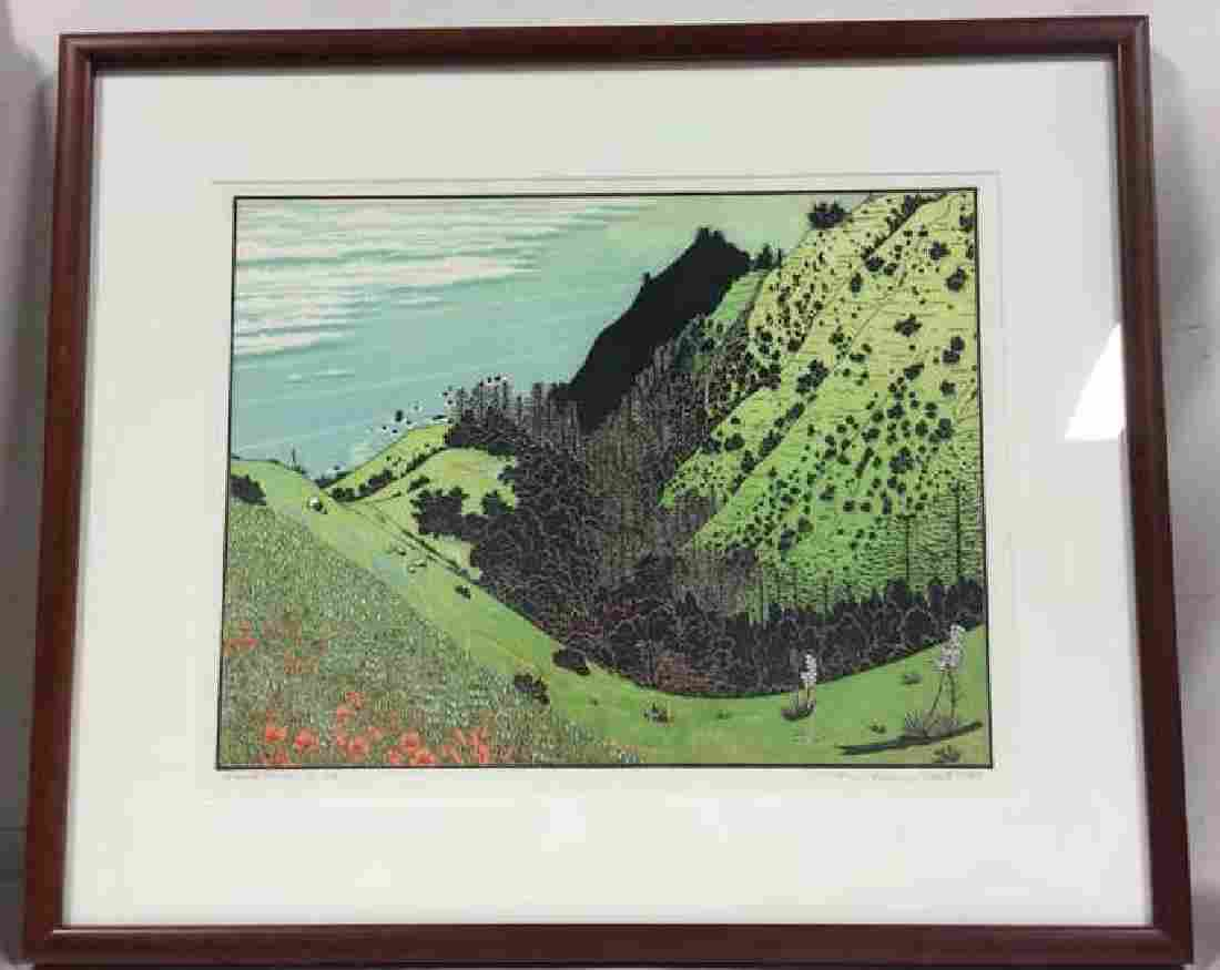 Limited Edition Signed Print Vicente Canyon