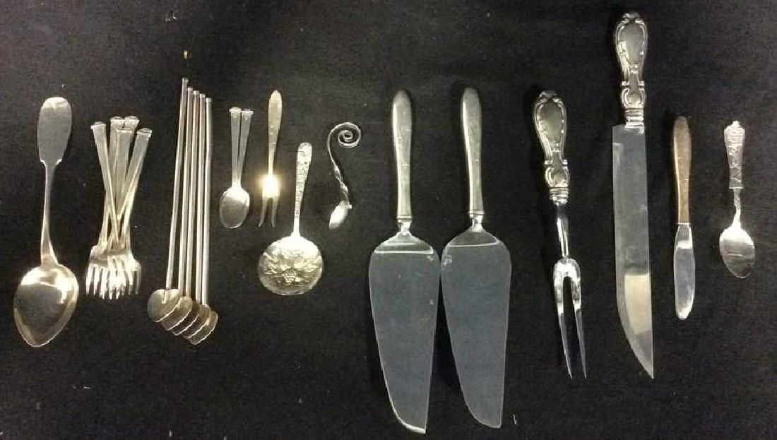 Lot 24 Assorted Sterling Silverware Flatware