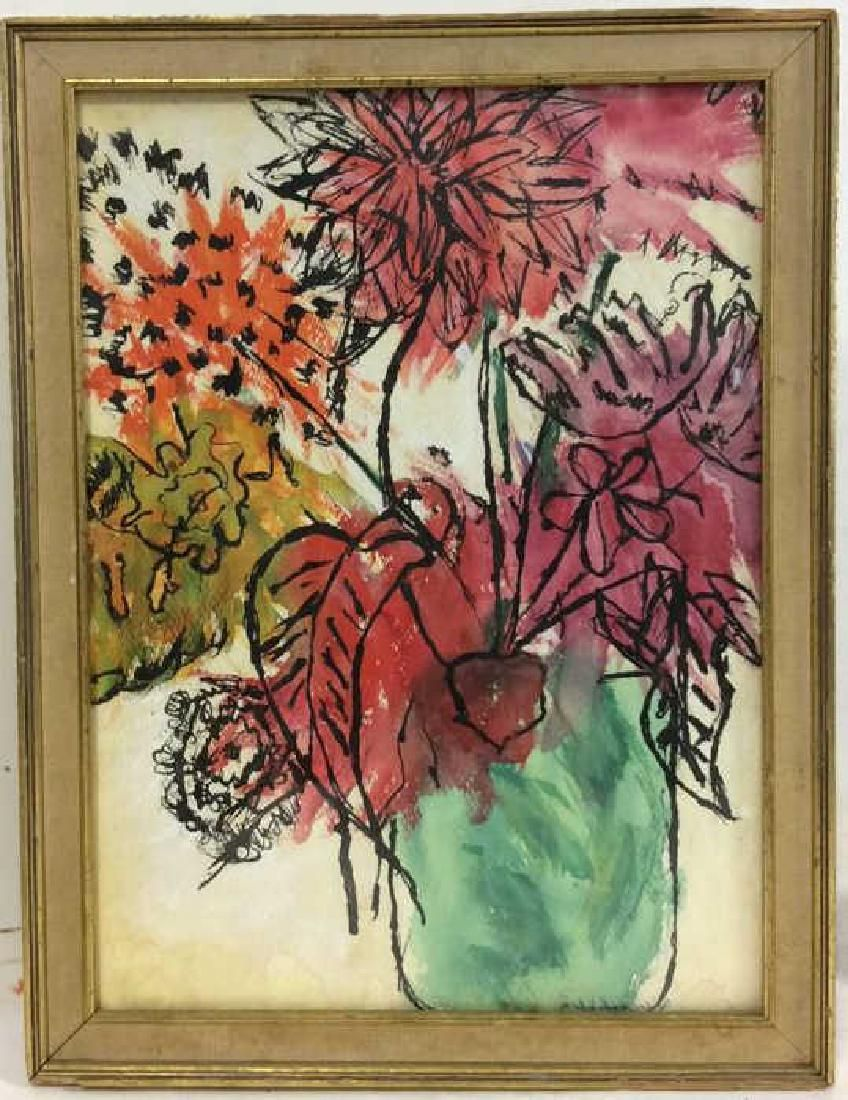 Signed Painting Floral Still Life
