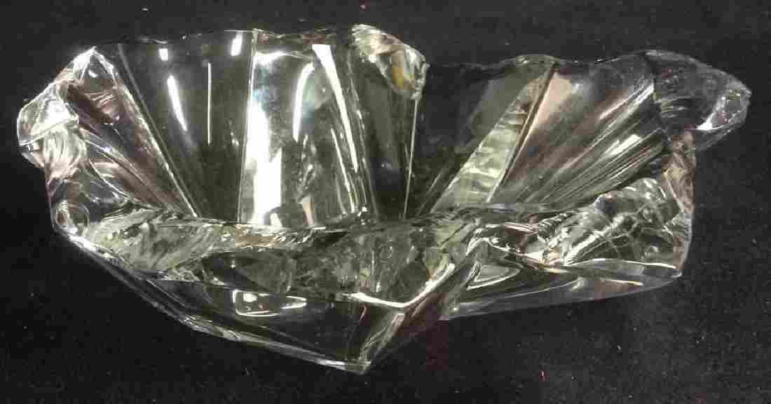 TAPIO WIRKKALA Crystal Cut Trinket Dish Bowl