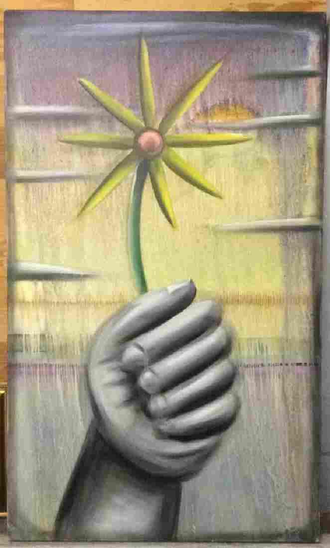 MICHAEL PEREZ  Pop Art Oil On Canvas