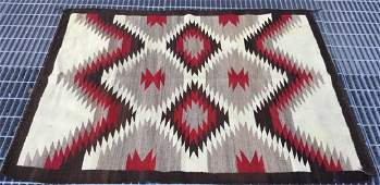 Handmade Native American Tribal Rug