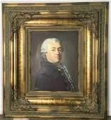 Ornately Framed Oil Portrait of Nobleman