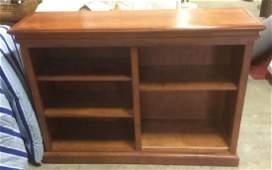 Wooden Book Display Shelf