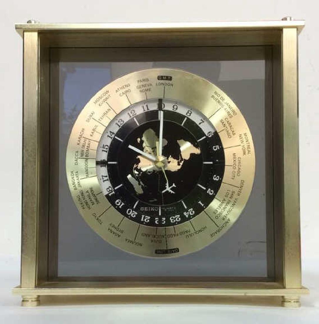 Vintage 80's SEIKO World Clock