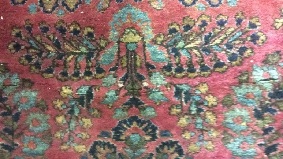 Vintage Persian Sarouk Carpet Rug