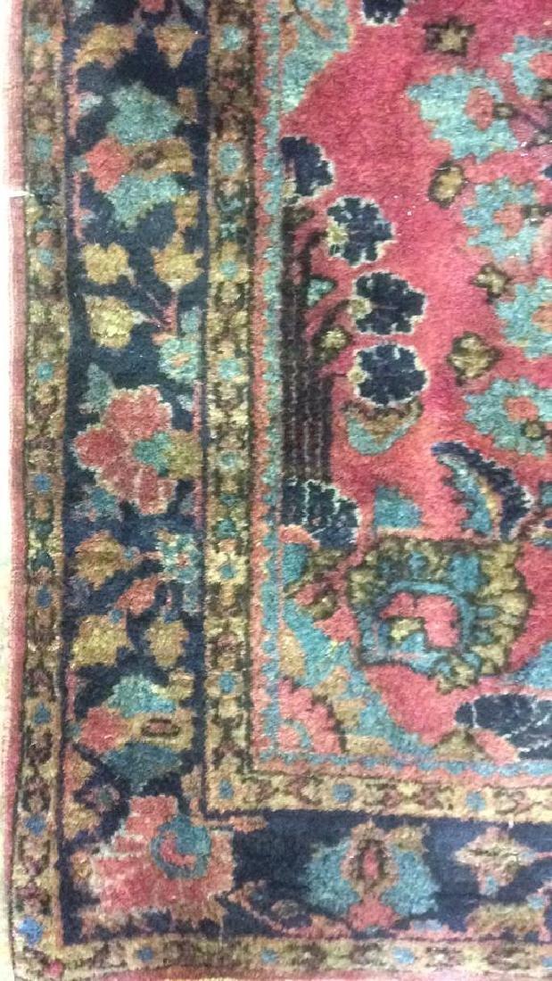 Vintage Persian Sarouk Carpet Rug - 3