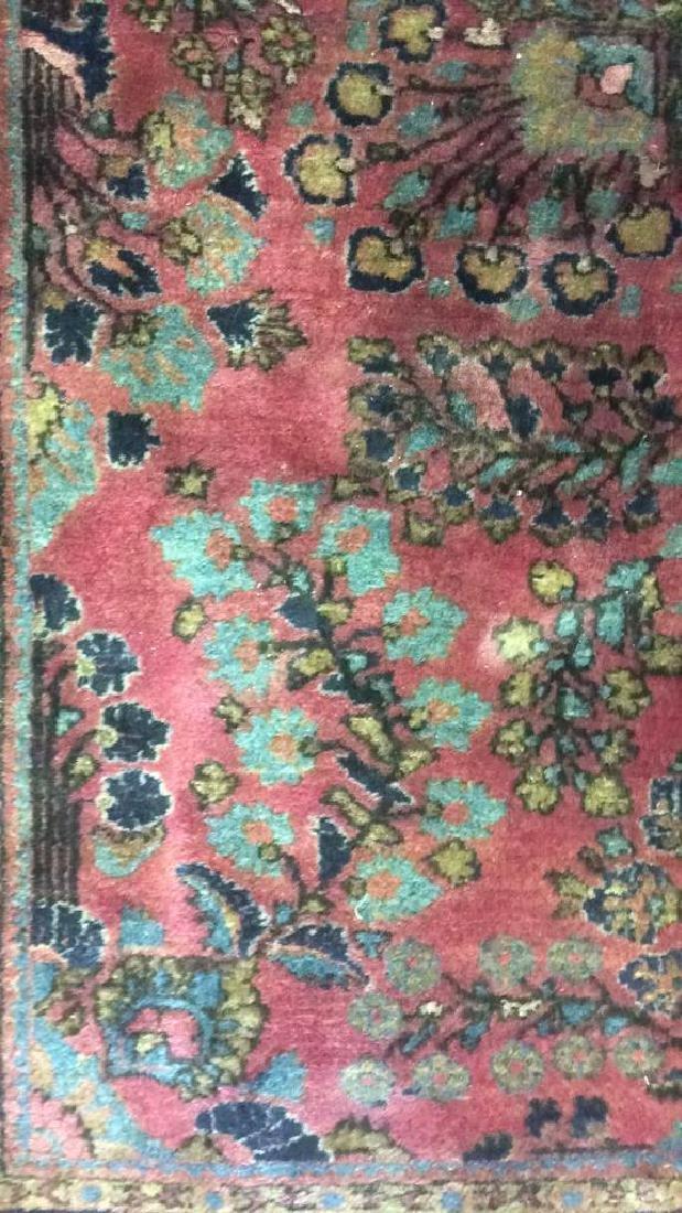 Vintage Persian Sarouk Carpet Rug - 4