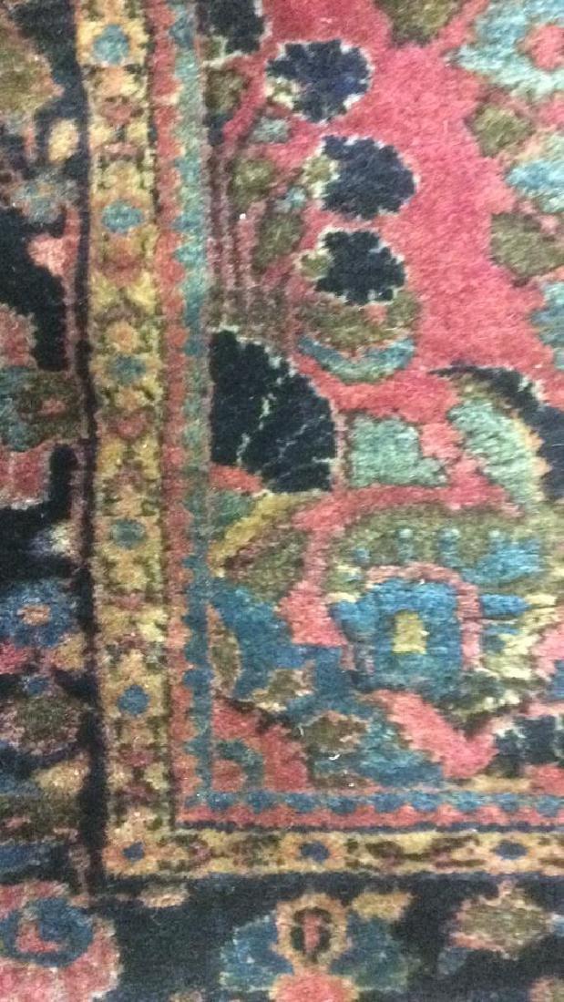 Vintage Persian Sarouk Carpet Rug - 5
