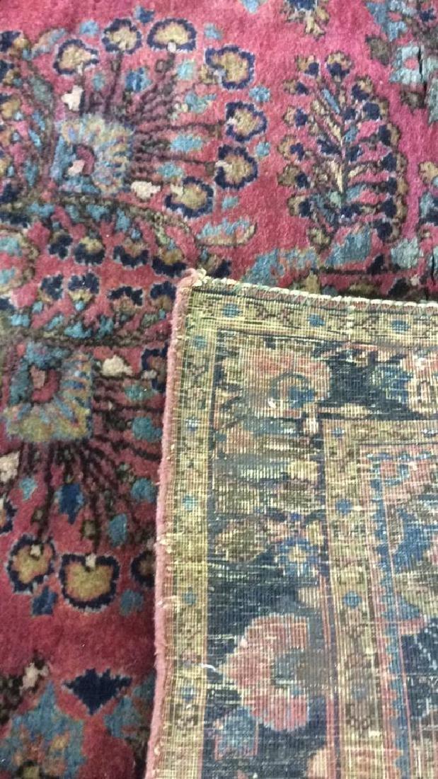 Vintage Persian Sarouk Carpet Rug - 6