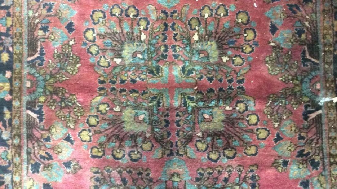 Vintage Persian Sarouk Carpet Rug - 7