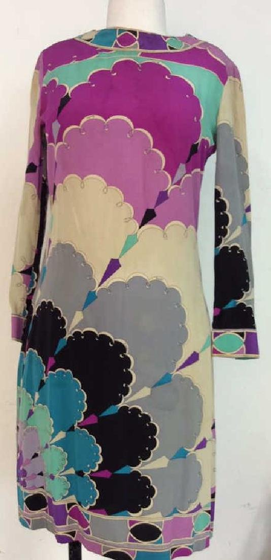 EMILIO PUCCI Vintage Silk Dress