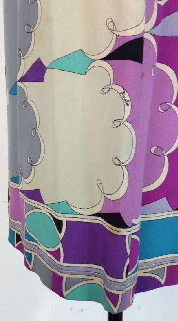 EMILIO PUCCI Vintage Silk Dress - 3