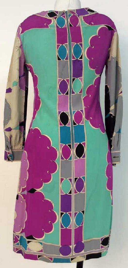 EMILIO PUCCI Vintage Silk Dress - 4