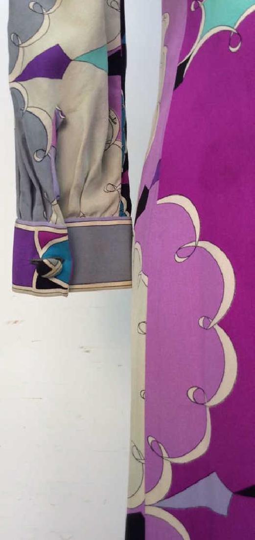 EMILIO PUCCI Vintage Silk Dress - 6