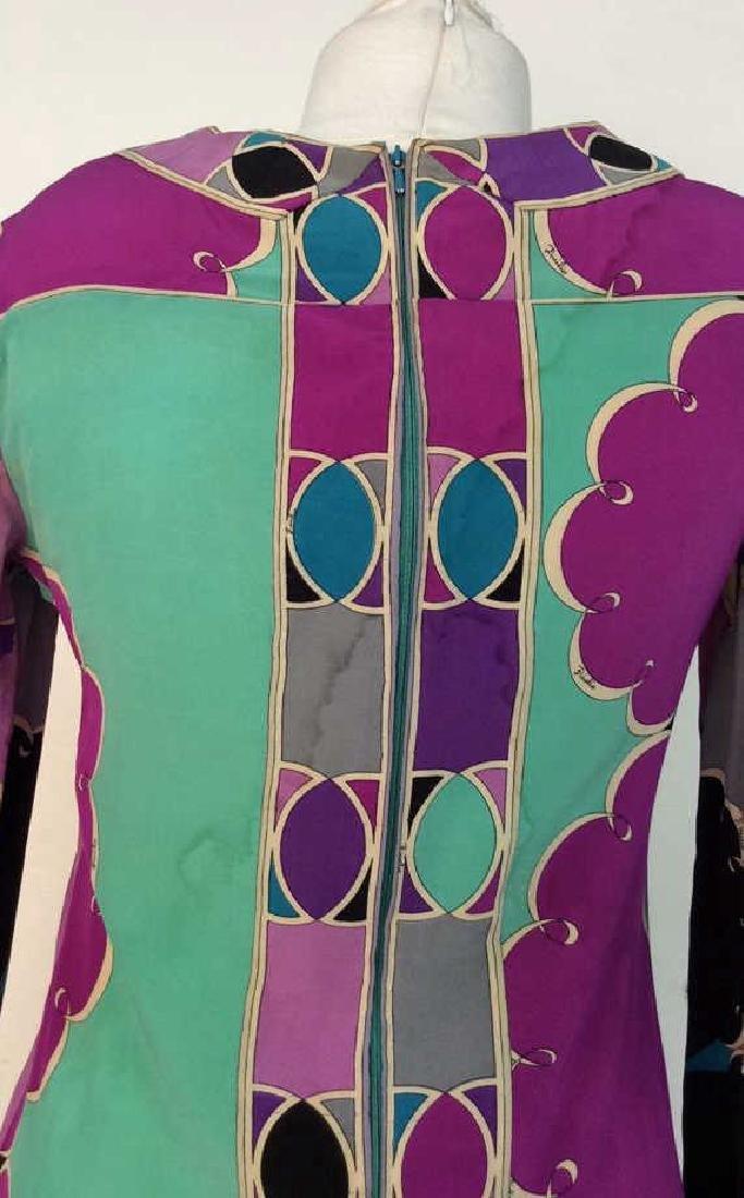 EMILIO PUCCI Vintage Silk Dress - 7