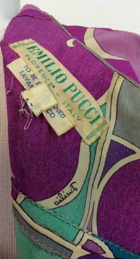 EMILIO PUCCI Vintage Silk Dress - 8