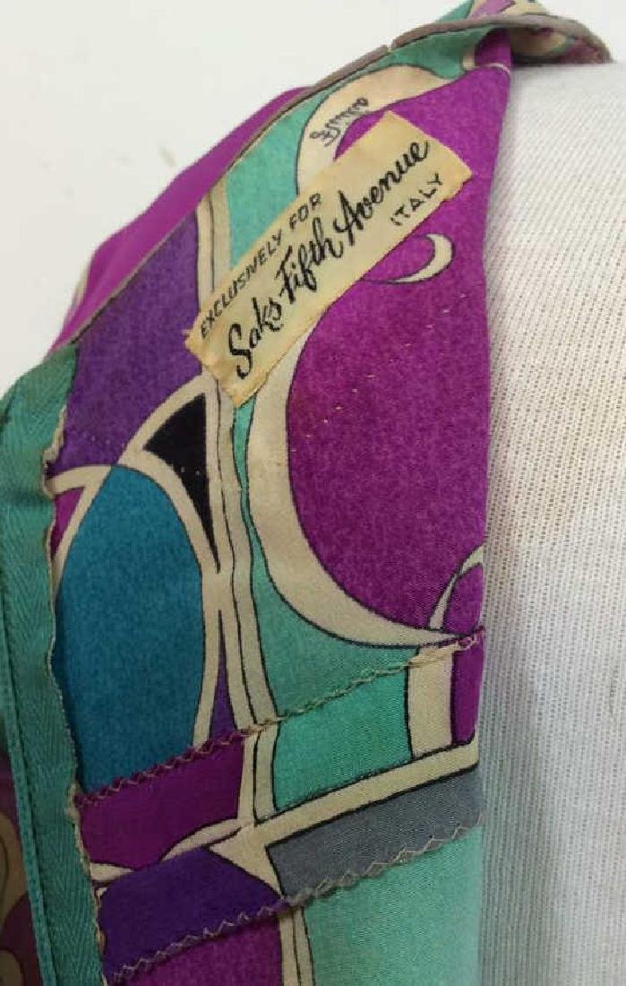 EMILIO PUCCI Vintage Silk Dress - 9