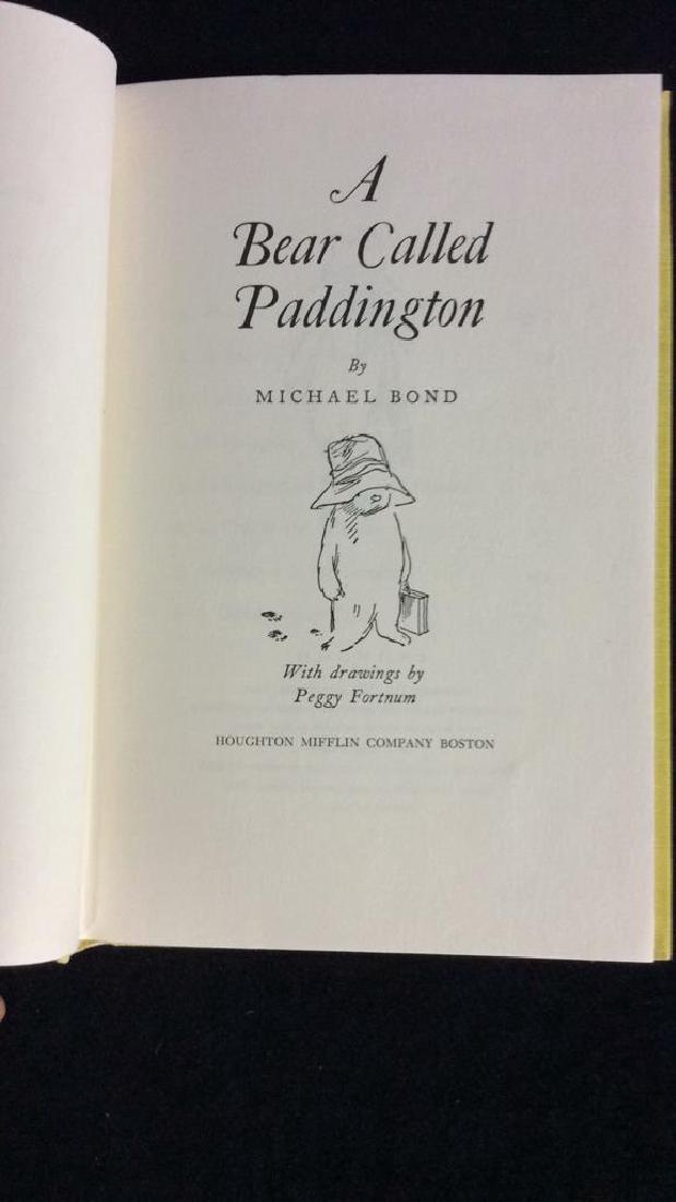 First American Edition A Bear Called Paddington - 2