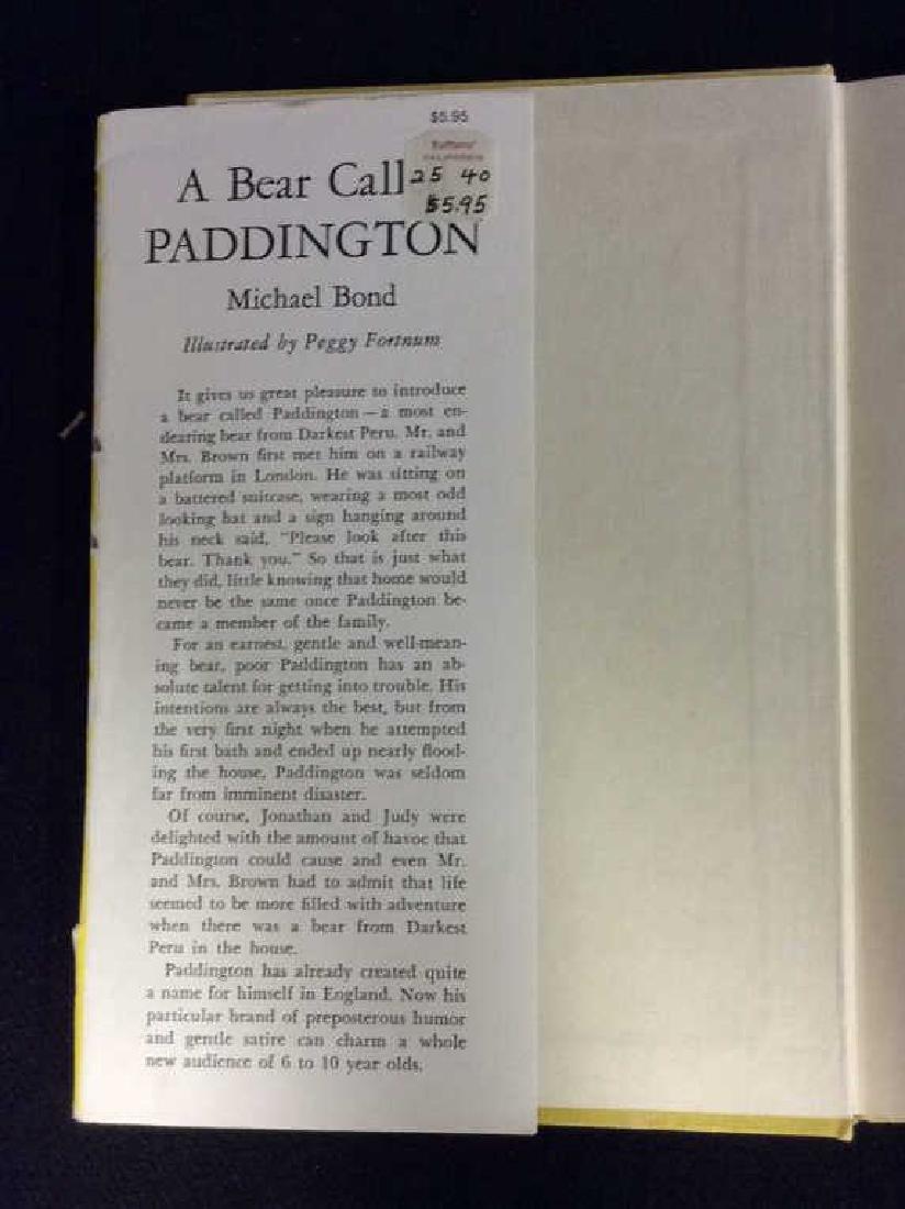 First American Edition A Bear Called Paddington - 9
